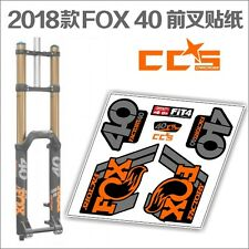 Fox 40 2015 Style Fork Decal//Replacement Stickers Racing Manufacture