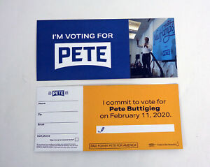 Mayor-Pete-Buttigieg-For-President-2020-Official-Campaign-Literature-Lot