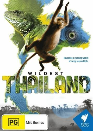 1 of 1 - WILDEST THAILAND (DVD) REGION-ALL, LIKE NEW, FREE POST IN AUSTRALIA