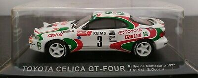 toyota celica auriol  monte carlo 1993  IXO ALTAYA   1//43