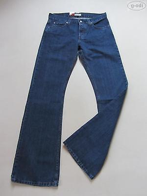 Levi's® 512 Bootcut Jeans Hose W 33/L 36, NEU ! lang, Button Fly, Indigo Denim !