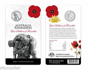 2010-Australia-Remembers-The-Lost-Soldiers-of-Fromelles-UNC-20c-Coin