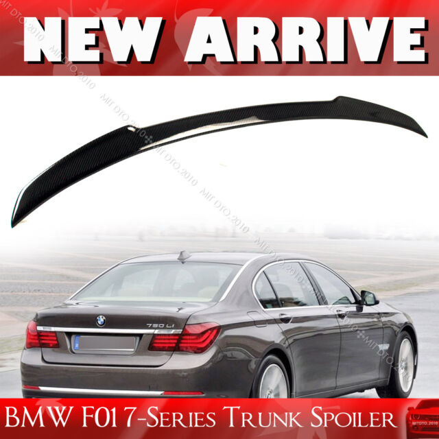 Carbon Fiber Wing For Bmw 7 Series F01 V Type Rear Trunk Spoiler Sedan For Sale Online Ebay