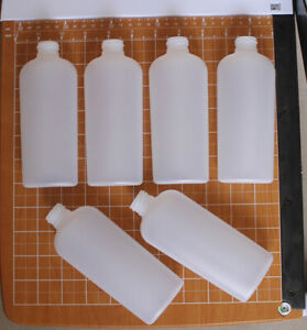 6-pak-6-oz-natural-HDPE-oval-plastic-bottle-with-24-410-neck