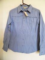 Gander Mtn Ladies Pigment Dyed Canvas Stone Wash Shirt Blouse, Size S