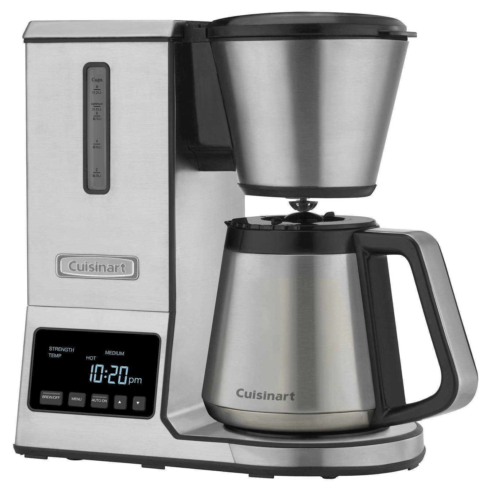 Cuisinart Pour over Coffee Brewer Thermal Carafe Stainless Steel - BRAND NEW