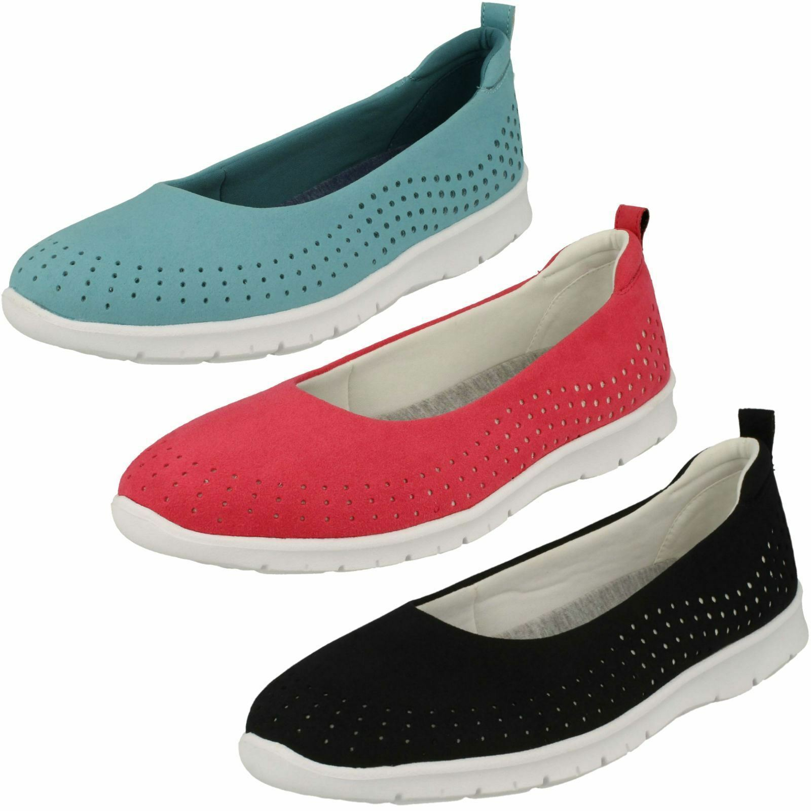 Woman Clarks cloudsteppers Step Training Sea Casual, Slip - on shoes-D