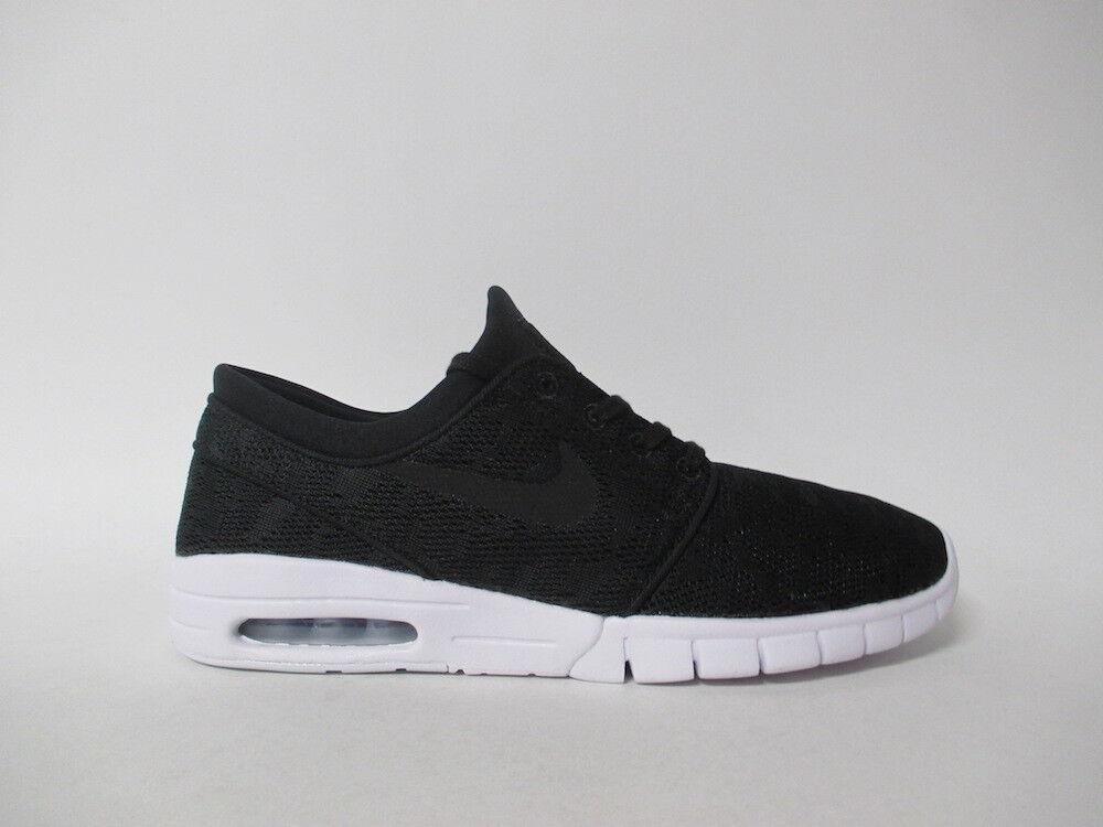 Nike SB Stefan Janoski Max SB Black White Sz 9 631303-022