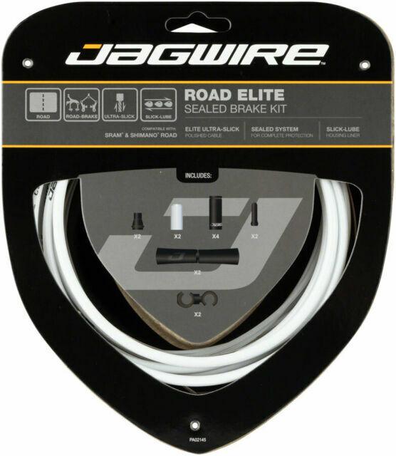 Jagwire Road Elite Link Brake Cable Kit SRAM//Shimano Ultra-Slick Uncoated Gold