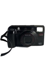 Minolta Auto Focus Freedom TELE 35mm film camera (Leica AF-C1) Japan UNTESTED Fx