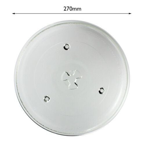 Glass Turntable Plate Dish Tray 270mm for KENWOOD Microwave Oven Spare Part