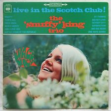 SNUFFY KING TRIO Live In The Scotch Club! RARE MOD JAZZ LP Holland '67 WACK WACK
