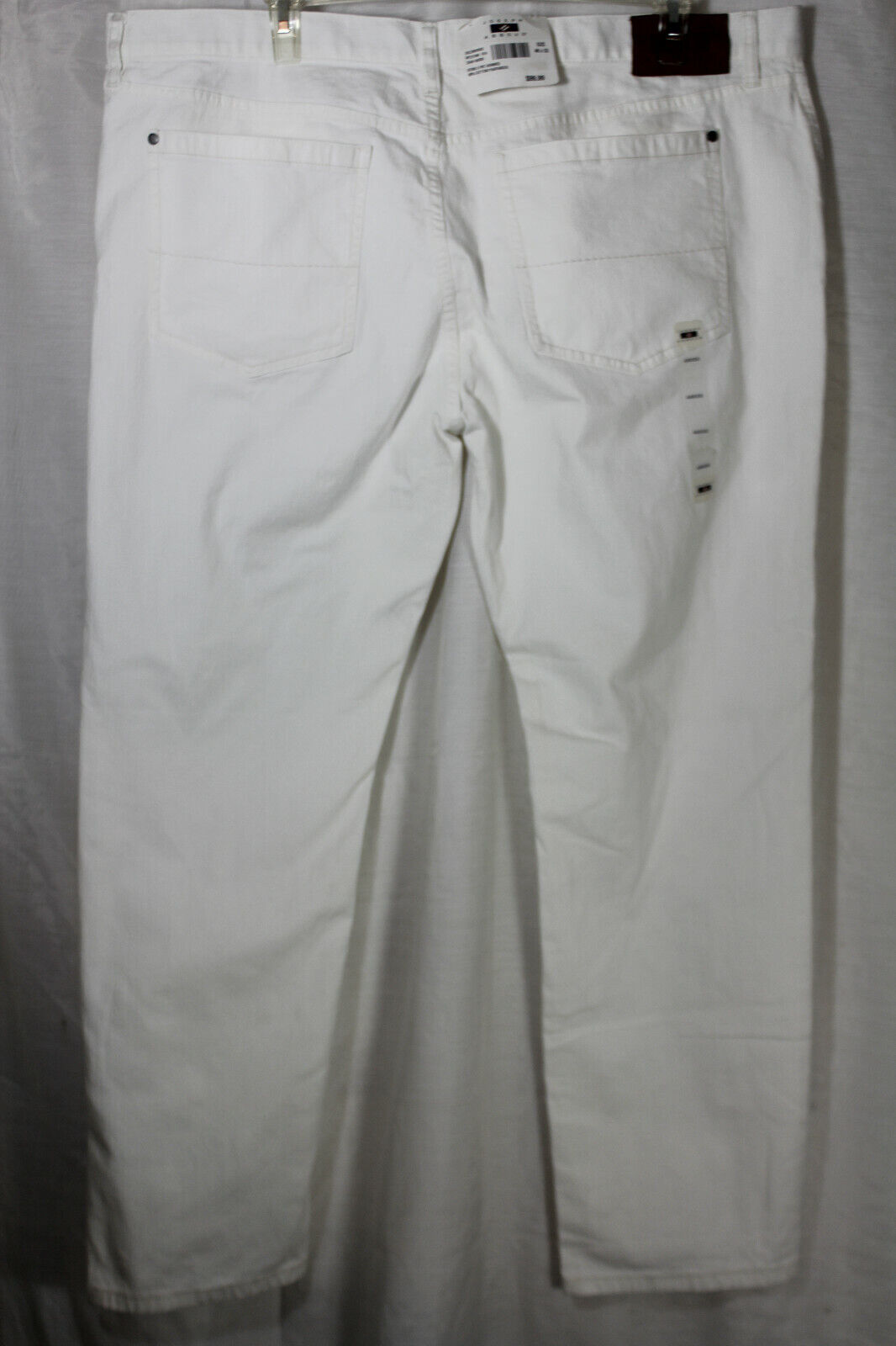 NEW Joseph Abboud Mens White Pants Size 46 X 32