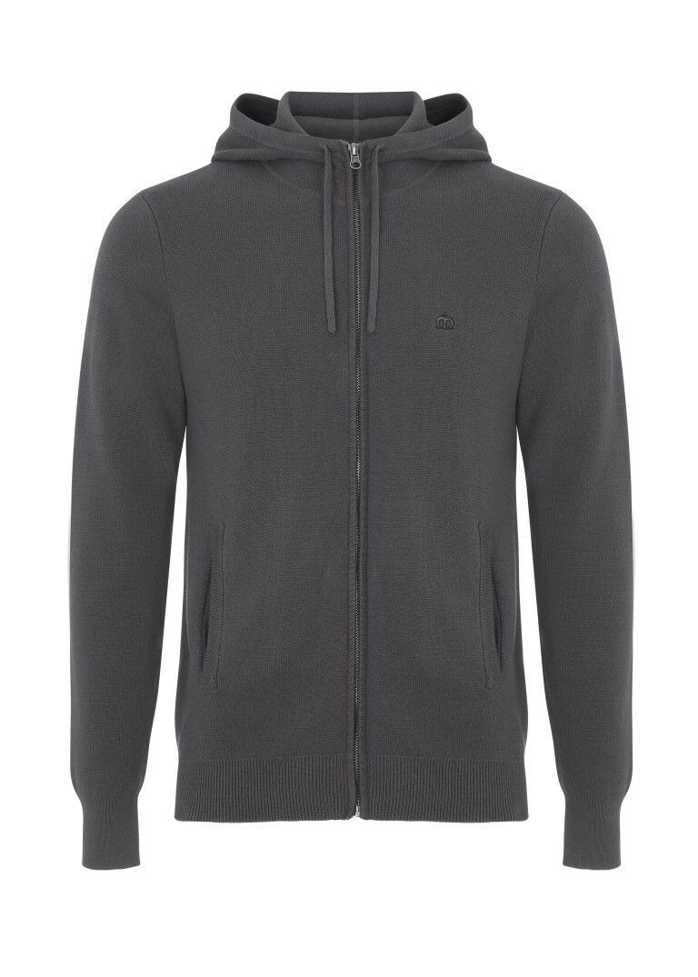 Merc London Bragg Hoody Grau Medium rrp  TD081 BB 01