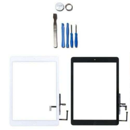 Touch Screen Front Glass Digitizer For iPad 5th White and Black with Tools&Film