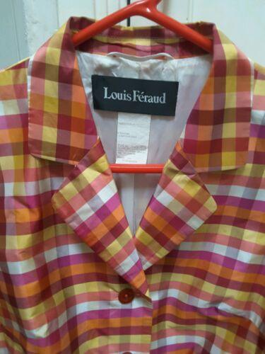 Feraud Eller 14 L Blazer Louis Størrelse Silke Checkered TYqUp