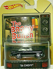HOT WHEELS Retro Entertainment The Brady Bunch 56 Chevy Bel Air Real Riders 1956