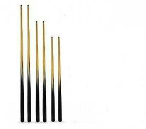 6-x-NEW-ASSORTED-SIZE-POOL-CUES-57-48-AND-36-INCH