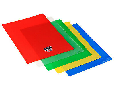 Set Of 5 Colour Coded Flexible Kitchen Antibacterial Food Chopping Mats Boards