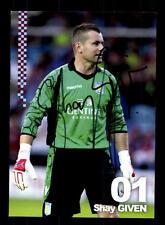 Shay Given Autogrammkarte Aston Villa 2012-13 Original Signiert+A 146986