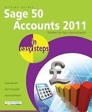 Sage Accounting in Easy Steps: All Versions Including 2011-ExLibrary