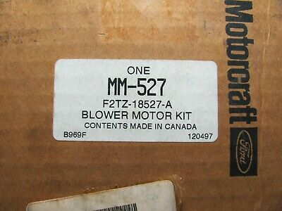 HVAC Blower Motor MOTORCRAFT MM-527