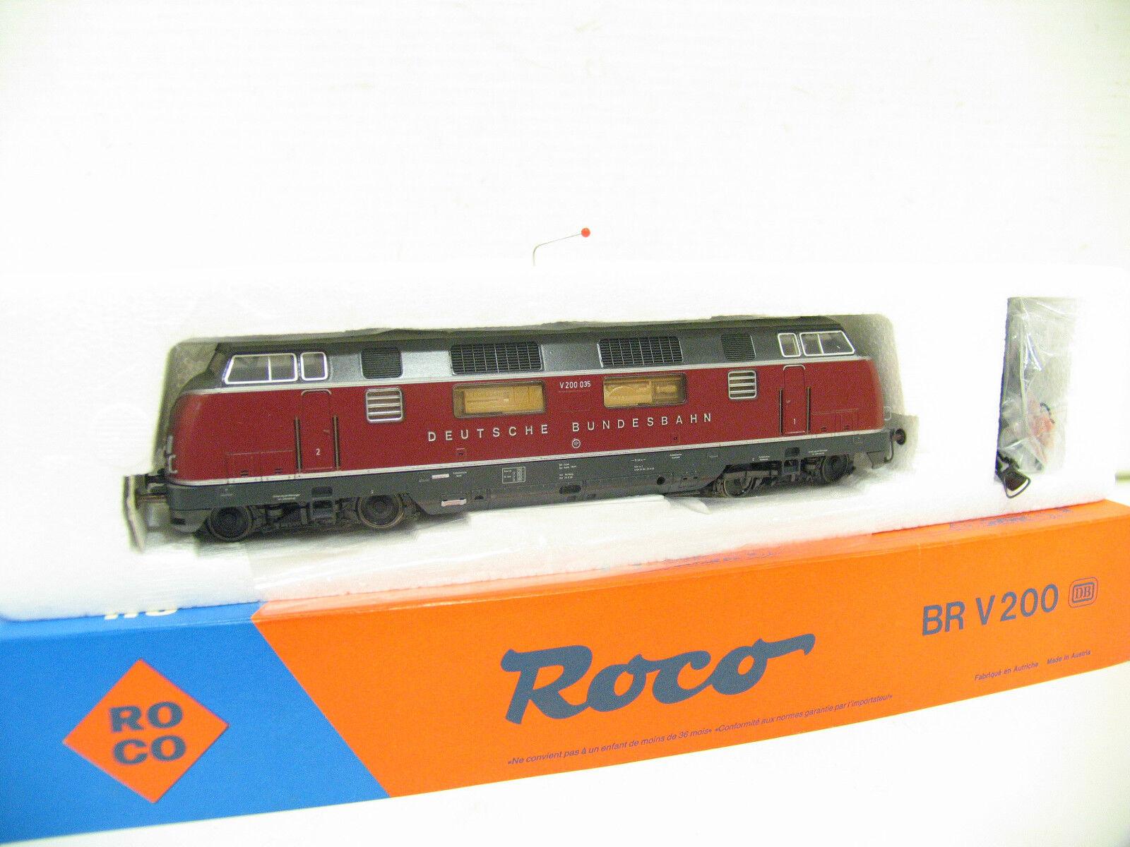 ROCO 43522 DIESELLOK V200 red der DB   H2170