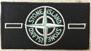 Patch-Toppa-Brand-Stone-Island-Abbigliamento-Marchio-Ricamata-Termoadesiva-9x5