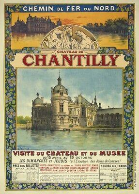 Reigate Vintage  travel poster reproduction.