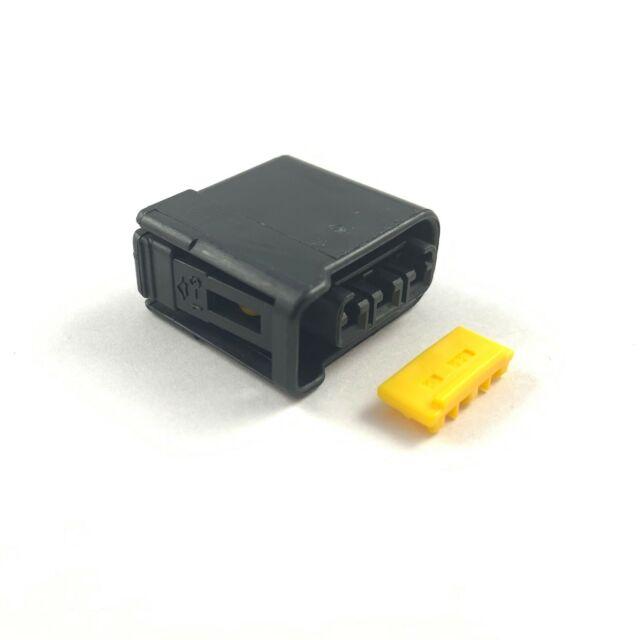 4x Subaru Impreza WRX STI 3-Pin Black Ignition Coil Plug Housing EJ20 EJ25