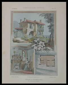SURESNES-13-RUE-GARIBALDI-1904-PLANCHES-ARCHITECTURE-EAUBONNE