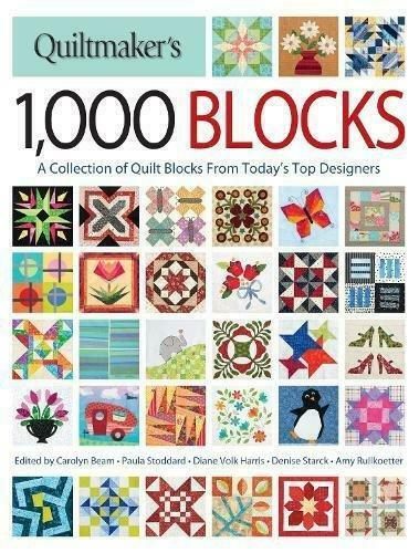 A Collection of Quilt Blocks from Today/'s Top Designe Quiltmaker/'s 1,000 Blocks