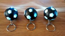 Black & White Football Shaped Torch & Keyring,Strong Beam,Only £3.75p each !