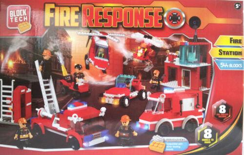 544 Blocks Brick By Brick Fire Response