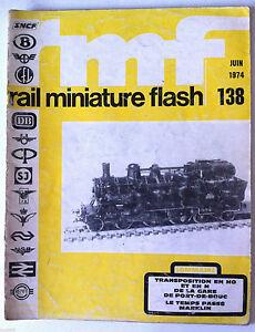 RMF-Rail-Miniature-Flash-138-du-6-1974-Ie-temps-passe-Marklin-Port-de-Bouc