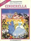 Cinderella - Vocal Selections by Bellini Vincenzo (Paperback, 1996)