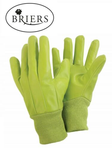 BRIERS Water Resistant Gardening Gloves Size Medium