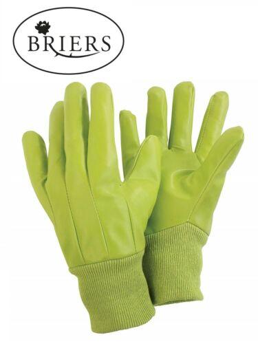 BRIERS Water Resistant Gardening Gloves Size Medium