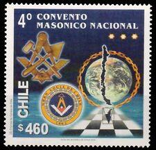 CHILE 2000-4th National Masonic Lodge Congress, Emblems, 1 Value, MNH-S.G. 1926