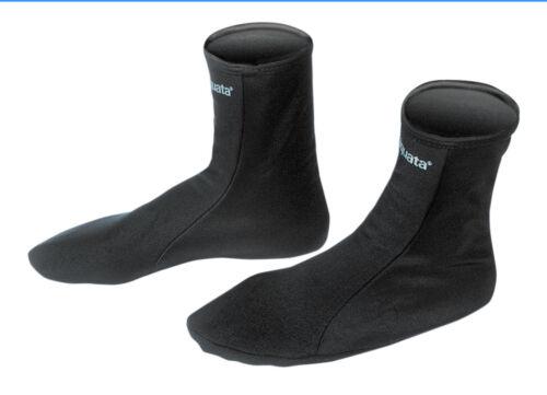 Socken Lycra Tauchen Thermo Flossen Schwimmen Surfen schwarz  XS bis XL