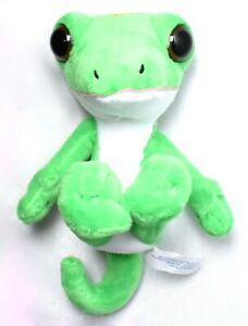 "GEICO INSURANCE Gecko Lizard Stuffed Toy Animal 5.5"" Tall >NEW<"