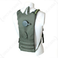 Molle 3l Water Pack With Straps - Olive - Hiking Walking Utility Bag