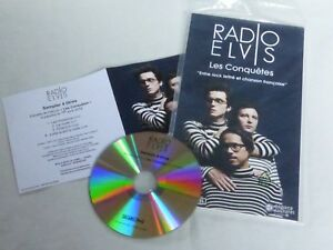 Radio-Elvis-los-Conquistas-Plv-Display-14-X-25cm-Promocion-CD