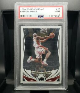 2004-Topps-Chrome-LeBron-James-23-PSA-9-Mint-Nice-Centering-BGS-9-9-5-Comp
