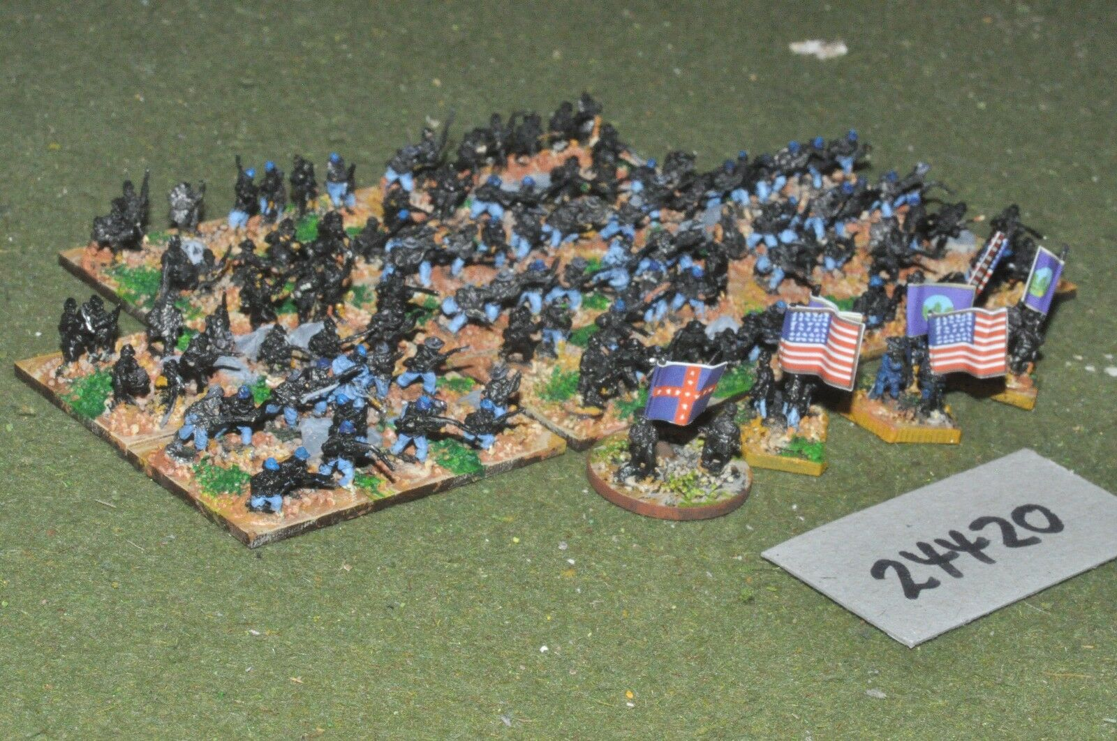 10mm ACW   union - part painted - inf (24420)
