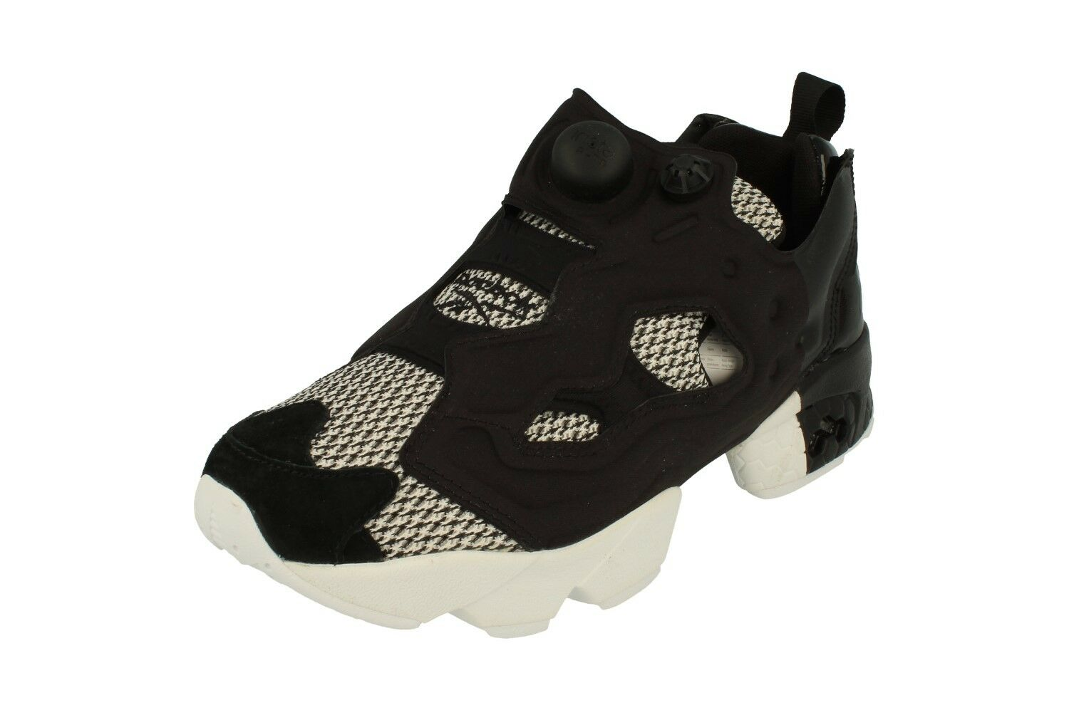 Reebok Instapump Fury Og Blk Scl Mens Running Trainers BD5009 Sneakers Shoes