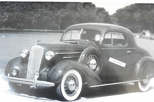 12-By-18-034-Black-amp-White-Picture-1936-Chevrolet-coupe