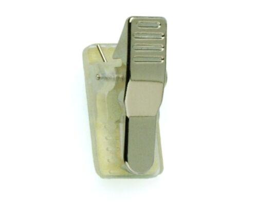 50 Metal//Plastic Self Adhesive Clip