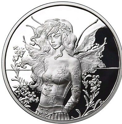 Haunted Pumpkin Patch 1 oz .999 Silver Proof Round Coin Amy Brown Collection