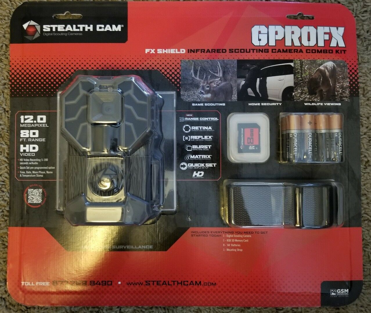 Stealth Cam 12MP  HD Video GPROFX Kit  online shop